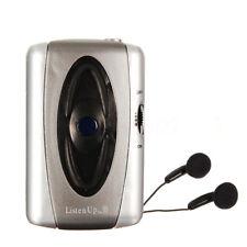 Listen Up Voice Hearing Aid Listening Device Sound Amplifier Personal + Head MFR