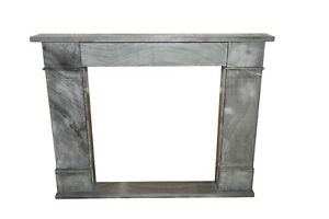 Modern Hand Carved Fireplace Mantel, Simple Design