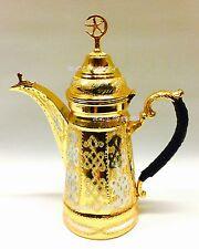 Brass copper 100% authentic Dallah Arabic coffee potدلة قهوه عربيه