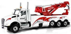 1:50 First Gear WHITE Kenworth T880 Miller Rotator Wrecker 59-3297 NEW