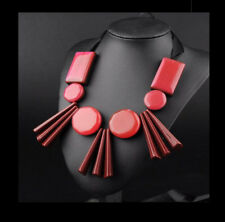 MARNI H&M Red Geometric Necklace
