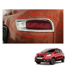 Rear Tail Reflector Cover Chrome 2 Pc To Mitsubishi Space Star Mirage 2016 - 17