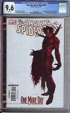 Amazing Spider-Man 545 CGC 9.6 Djurdjevic cover 1st Lilly Hollister Menace