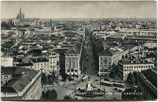 1954 Milano Castello Fiera Campionaria In Corso Particolare Tram FP B/N VG ANIM