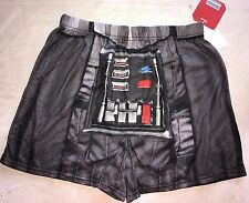 mens New Nwt Disney Star Wars Boxer Shorts size small fly front Nice Underwear @