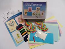 Quilling Card Kit - Spring