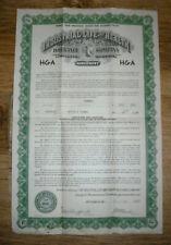 1943 Life insurance policy, Industrial Life & Health/Life of Georgia, Atlanta