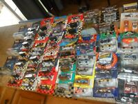 HUGE LOT NASCAR 1/64 & 1/24 SCALE HOT WHEELS ACTION RACING CHAMPIONS EARNHARDT +