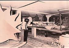 FOTO PREPARAZIONE CARRI CARNEVALE ALASSIO - GRUSST -  1970ca -  (C8-173)