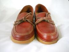 Ladies Dexter sz. 5 1/2 slip on's, Brown & Tan, New, leather uppers.