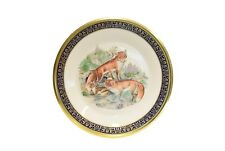 Lenox Annual Collector Plate Woodland Wildlife 1974 Red Foxes Boehm