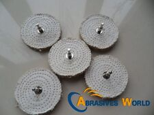 "5PCS 4"" 100mmx12.5mm Sisal Cloth Buffing Wheel for polishing small metal"