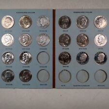 1971-1978  EISENHOWER DOLLAR COLLECTIONS, 19 UNC.Vintage Coins, P/D/S & PROOFs