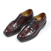 Florsheim Imperial Kenmoor 93605 Longwing Blucher 7.5 D Shell Cordovan Leather