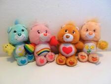 raro retrò Care Bears McDonalds Mini Peluche Bambole x 4 Set Completo 2004