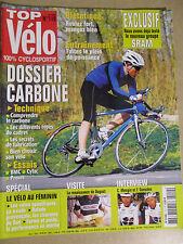 TOP VELO N°110: MAI 2006: SRAM - DOSSIER CARBONE - C. MENGIN ET F. GUESDON - BMC