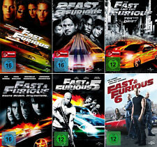 The Fast and the Furious 1 - 6 (Paul Walker)                         | DVD | 500