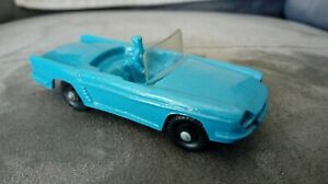 Tomte Laedal Stavanger N° 6 superbe Renault Floride cabriolet bleu 1/43 Norway