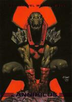 ANNIHILUS / 1993 Marvel Masterpieces BASE Trading Card #47