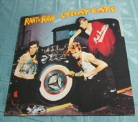 STRAY CATS (LP) RANT N 'RAVE [ORIG ARISTA 1983 +INNER ** GERMAN PRESSING] EX