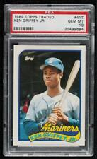 1989 Topps Traded Box Set Ken Griffey Jr #41T PSA 10 Rookie HOF GEM MINT