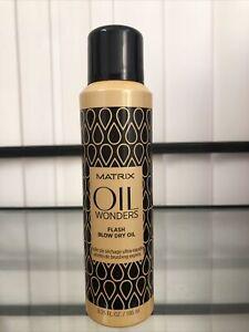 Matrix Oil Wonders Flash Blow Dry Oil, 6.25 oz