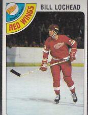 1978-79 TOPPS HOCKEY BILL LOCHEAD #122 RED WINGS NMMT *54854
