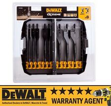 DeWALT DT7943B-QZ Extreme 12mm - 32mm 8 Piece Extreme Flat Wood Drill Bit Set