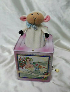 RARE Classic 2002 Mary Had A Little Lamb Musical Jack In The Box