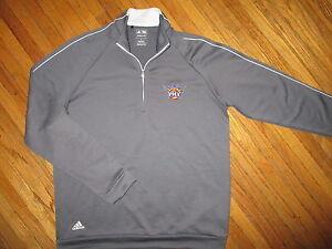 PHOENIX SUNS PERFORMANCE SWEATSHIRT Sewn Logo Pullover NBA Basketball Adidas SM