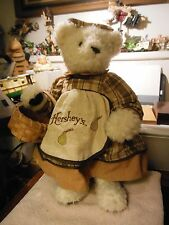 """16"""" limited edition Hershey's bear 1996 Hershey Foods"""