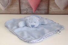 Jelly Kitten Blue Bear Comforter Gingham Edged Jellycat Teddy Blankie Jelly1149