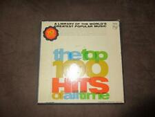 VTG the top 100 hits of all time 10 Record Philips Hi-Fi Monaural SPM-200 LP*