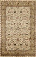 6x8 Vegetable Dye Floral Traditional Oriental Area Rug Hand-knotted Wool Classic