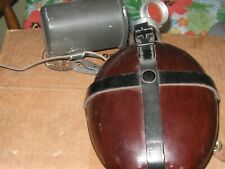 Vintage German Wood covered Tropical Military Canteen  HRE 57