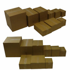 25 BROWN SHIPPING BOXES POSTAL MAILING PARCEL STRONG CARDBOARD 15 X 10 X 5 Inch