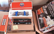 New Lionel Black Widow Southern Pacific Diesel Freight Train Set O Gauge in Box
