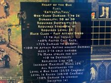 Diablo 2 Resurrected D2R Softcore PC - Heart of the Oak HOTO 31 Resist