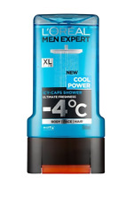 L'OREAL Body Shower Gel Men Cleanses Freshness Mint Glycerin Hydrating 300 ml