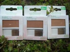 3 ALMAY PURE BLENDS 98.2% NATURAL BEAUTIFUL BRONZER, #300 SUNKISSED
