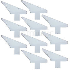 10 Guitar Pick Guard Pickguard For Gibson 76 Explorer Reissue Parts White 3 Ply