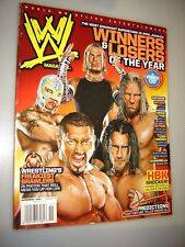 WWE WWF wrestling magazine November 2008 BATISTA-Triple H, Jeff Hardy