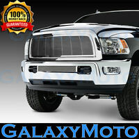 10-12 Dodge RAM 2500+3500+HD Front Hood Chrome Billet Grille+Replacement+Shell