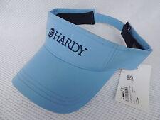 Nuevo Azul Hardy Sun Visor/Sombrero De Pesca.. barra.. carrete.