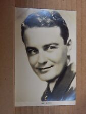 Film Star Postcard Lew Ayres  Film Weekly 112. Real Photo unposted