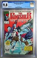 Punisher War Journal #7 Wolverine Marvel 1989 CGC 9.8 NM/MT WPages Comic Q0015