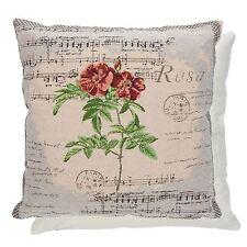 Clayre & Eef Dekokissen mit Rosen-Form aus Baumwollmischung