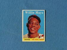 New listing 1958 Topps Willie Mays #5 SF Giants HOF VERY NICE !!!