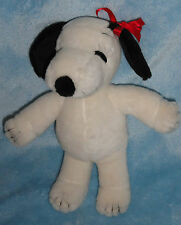 """United Feature Snoopy's Sister Belle Girl Peanuts Gang Stuffed Toy 9"""""""
