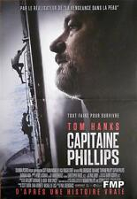 CAPTAIN PHILLIPS - TOM HANKS / SHIP / HIJACKING - SMALL FRENCH MOVIE POSTER